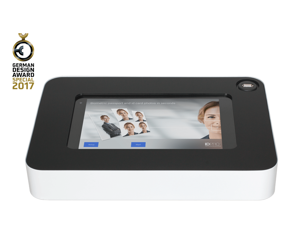 G3 ID Touchterminal Winner German Design Award 2017